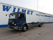 MERCEDES ATEGO 1218 4X2 CHASSIS CABINE ET HAYON