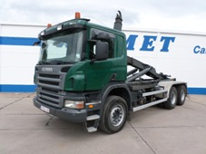 SCANIA P 380 CB HHZ 6X4 SYSTEME LEVE CONTAINER