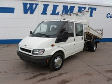 FORD TRANSIT 90 T 350 DOUBLE CABINE BENNE